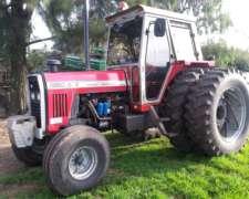 Tractor M F 1360 S/t 1990- Cub Duales 18-4-34 Y 1100x16 Cab