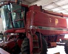 Case 2166 Año 1999 Con Plataforma Trigo-soja De 25pies
