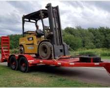 Acoplado Trailer para Transporte de Maquinas 5 TN. de 5 Mts.