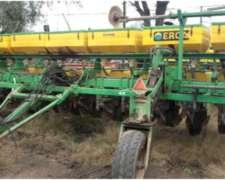 Sembradora Erca, 14 Líneas A 52,5cm. Con Fertilización