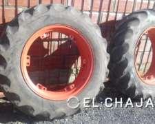 Cubiertas de Tractor Usadas Marca Firestone 13.6.28.-