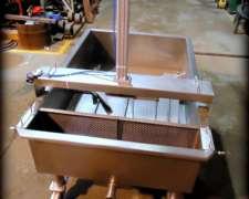 Miniplanta de Dos Tinas 1100 Lts.- Fabricación de Quesos