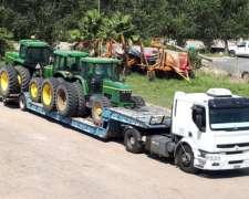 Jdeere/case/nholand/droque Transporte / Carretones