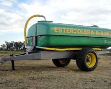 Estercoleras Argenplast 8.000 Litros 1 Eje