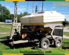 Ferilizadora de Arrastre Pozzi 3000