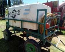 Acopladito Tanque De Agua Para Apoyo Fumigador De 2800 Lts