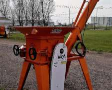 Quebradora De Granos Fija Con Sinfín De Descarga 60/40 Tn/h
