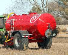 Estercolera 12, 10, 8 Mil Litros Fertec Tank