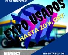 Gran Feria de Usados, Descuentos Hasta del 20%