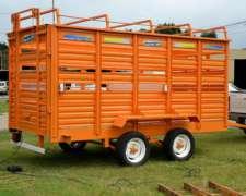 Acoplados Para Transporte De Animales 4 Mts.