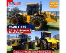 Tractor Pauny 540 Dual Radial