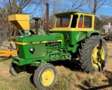 Tractor John Deere 2140 con Cabina Rodado 18.4x30