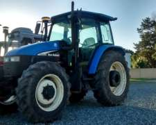 Tractor, New Holland TS 120 con Tres Puntos