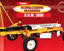 Desmalezadoras Hileradoras - Modelo: D.h.m. 3000