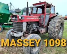 Tractor Massey Ferguson 1098 Simple Tracción
