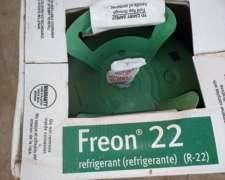 Refrigerante R22 Dupont Garrafa De 13.6 Kg.