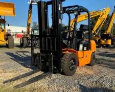 Autoelevador 2500kg Triple Torre Desplazadorlateral Sinomach