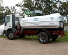 Equipo de Riego para Camión.tanque 8.900 Lts. Prfv.