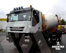 Camion Hormigonero Iveco Trakker 410 (id533)