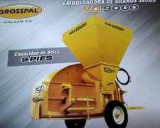 Embolsadora Grosspal 2020 en 0 30 60 90 120 150