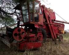 Cosechadora Vassalli 316 - Funcionando Alfalfa