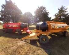 Tanque Combinado 3000 Lts. Combustible + 750 Lts. Agua MC