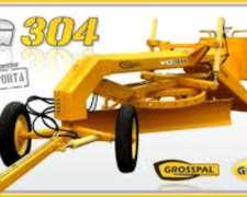 Niveladora de Arrastre Grosspal VG 304