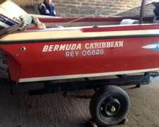 Lancha Bermuda Caribbean con Trailer