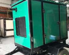 Grupo Electrogeno 45 Kva, Cabina y Carro de Traslado Oferta