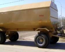 Acoplado Cisterna con Tanque de Acero,plastico y Combinado