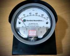 Vacuómetro Diferencial para Medir Vacío