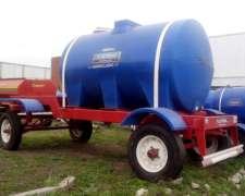 Acoplado Tanque 7000l Plastrong