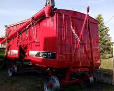 Acoplado Tolva Para Semilla Y Fertilizante 13m3 Ombu Nuevo