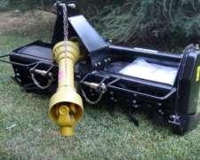 Rotovator para Tractor con Levante de 3 Pts y Toma de Fuerza