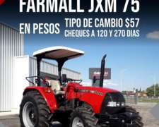 Tractor Farmall 75 - Doble Traccion - Oportunidad
