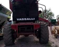 Cosechadora Vassali 910 C/ Las 3 Plataformas - Muy Buena