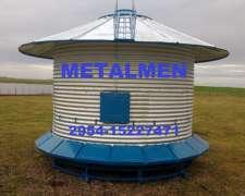 Silos Autoconsumo Metalmen Metalurgica Menonita