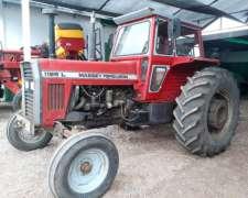 Tractor Massey Ferguson 1195l con Cabina año 1991