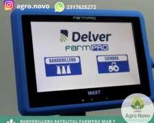 Banderillero Satelital Farmpro MAX 7 Mapeador Envio Gratis