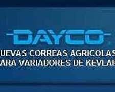 Nuevas Correas Variadoras Dayco Agricolas