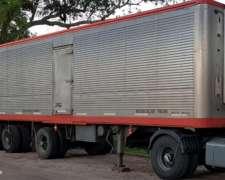 Semirremolque Astivia Carnicero Modelo 1994 12,50 Mts
