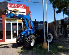 Tractor New Holland TL-95 C/pala Frontal