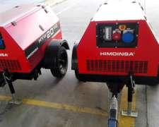 Generador Electrico Diesel -20kva Sobre Trailer