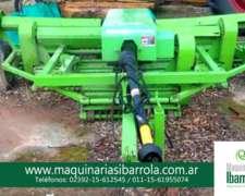 Desmalezadora Helicoidal para Tractor