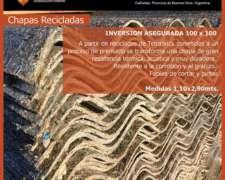 Chapas Recicladas-prod. Nuevo- Tetra Medida 2.90 X 1.10 Acan