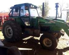 Tractor Deutz AX120 con Pala