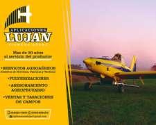 Pulverizacion, Siembra Aérea, Asesoramiento Agropecuario