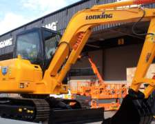 Excavadora Lonking Cdm6065 Balde 0,25 M3 Potencia 58 Hp