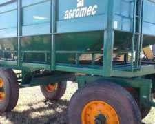 Acoplado Tolva Granero Agromec 8 Tn