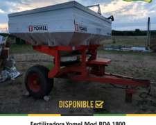 Fertilizadora Yomel RDA 1800